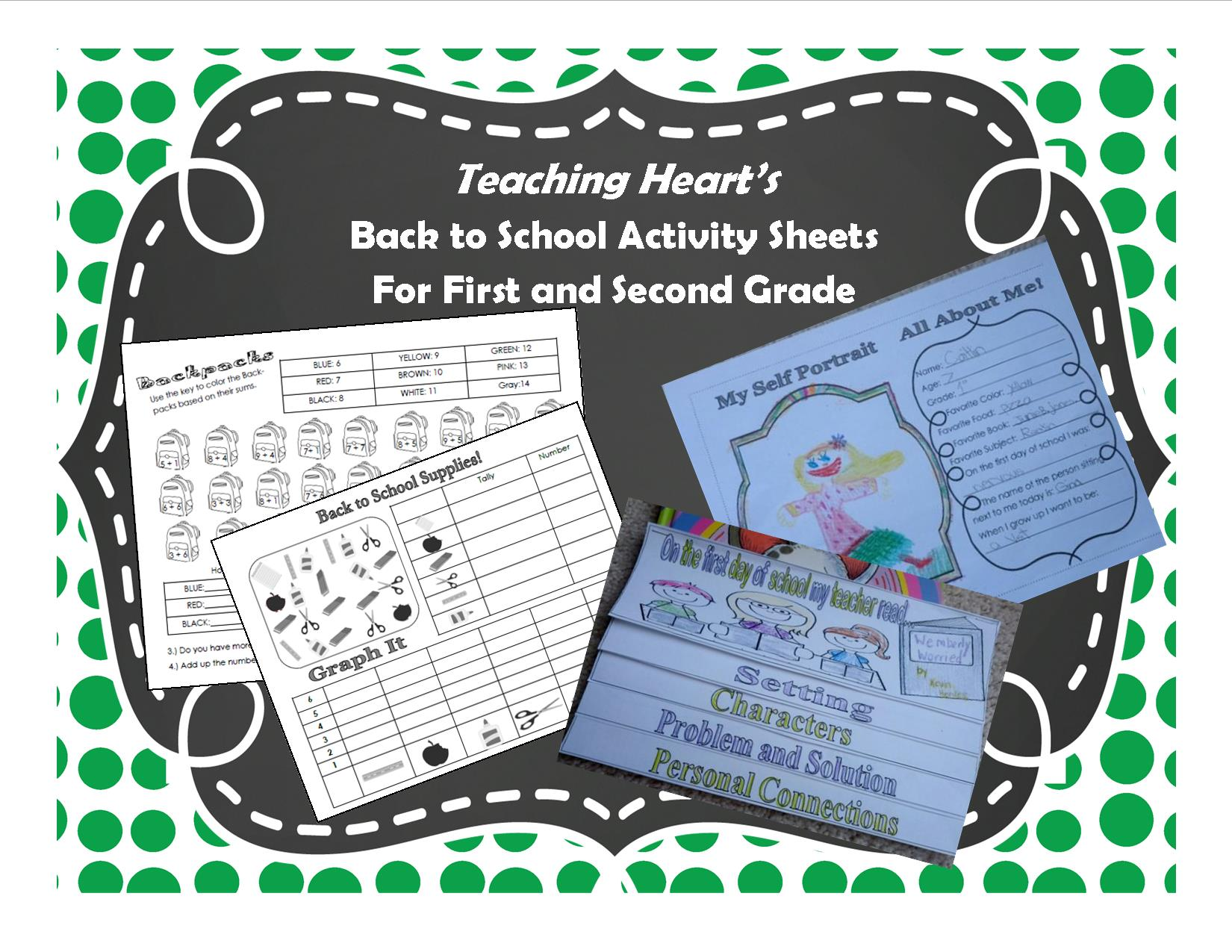 Back To School Worksheets And Simple Games Teaching