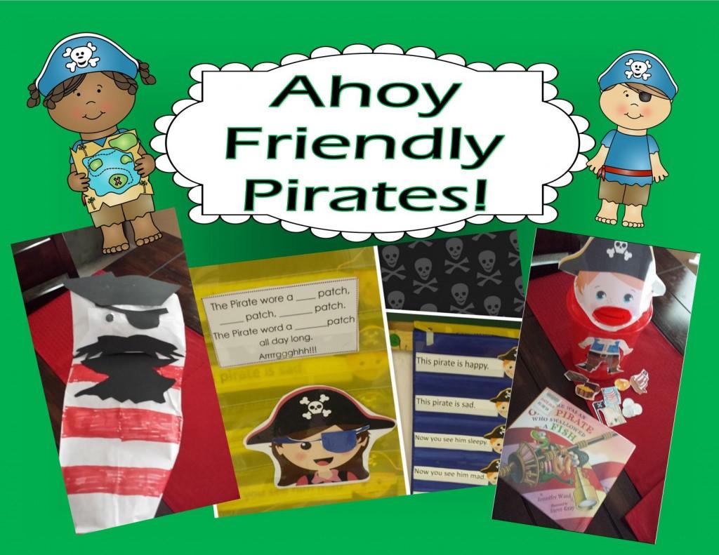 Ahoy Friendly Pirates Teaching Heart Blog