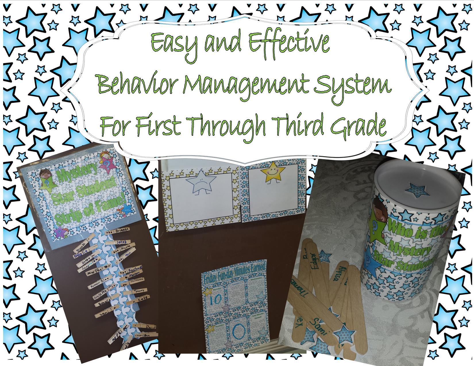 Easy And Effective Behavior Management System