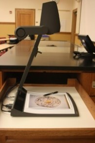 A typical document camera