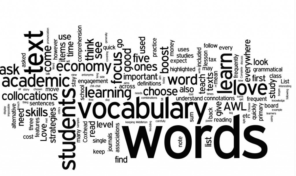Rote Memorization of Vocabularly