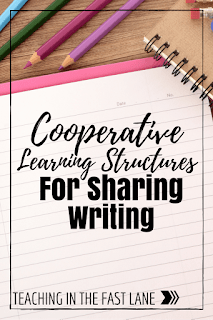 Cooperative Learning Strategies that are Great for Sharing Writing