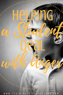Helping a Student Deal with Anger