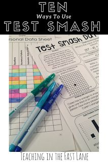 10 Ways to Test Smash {Make Your Test Prep Rock}