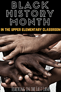 Black History Month in the Upper Elementary Classroom