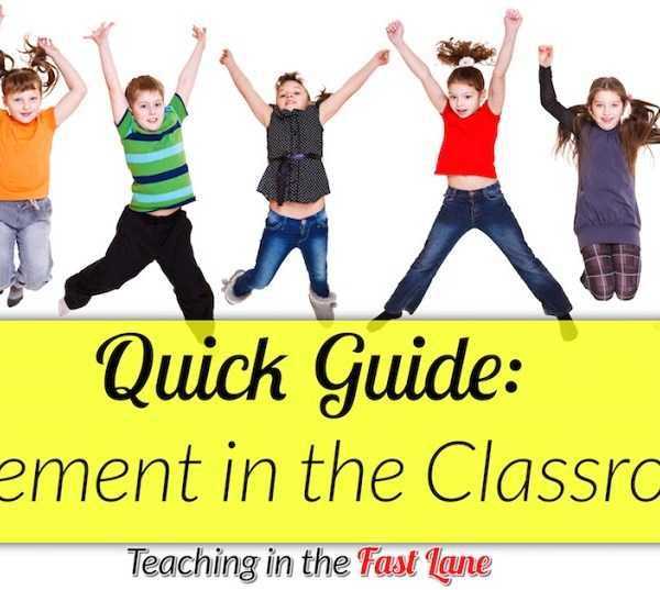 How to Include More Movement in the Classroom