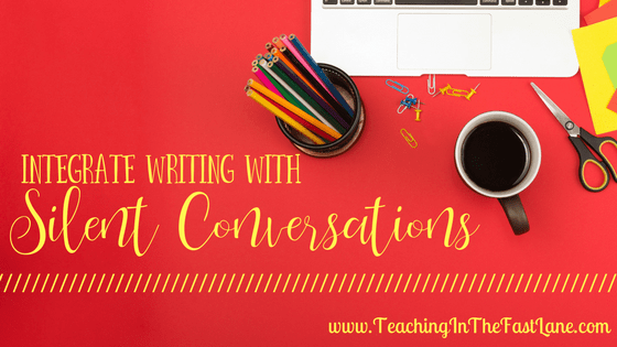 Silent Conversations to Integrate Writing
