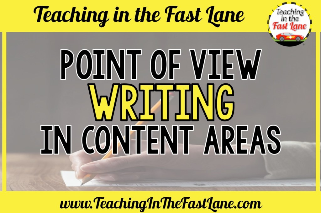 Have you tried integrating writing into your content areas by having your students try point of view writing? This strategy connects students to the content and lets their imagination soar!