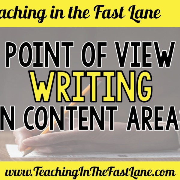Point of View Writing in Content Areas – To Ingegrate Writing