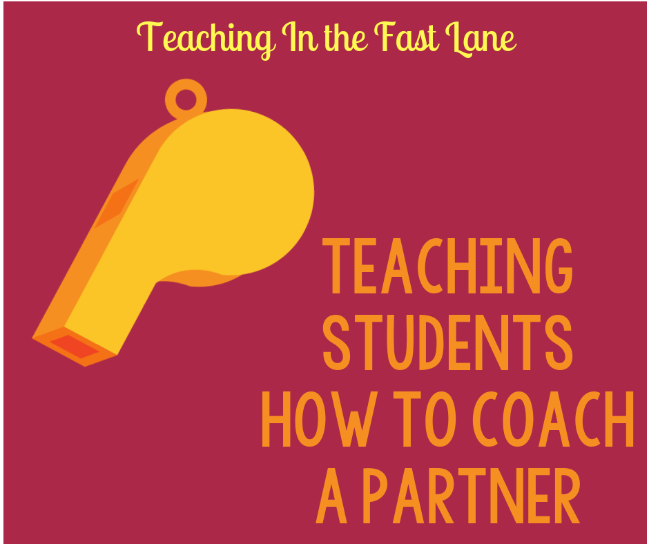 Teaching Students How to Coach a Partner