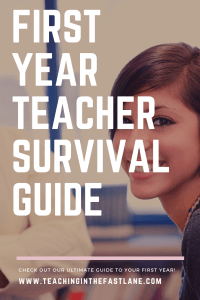 Click here for the First Year Teacher Survival Guide for advice on how to reduce the stress of your first year in the classroom, push back against anxiety, and tips for fighting burnout.