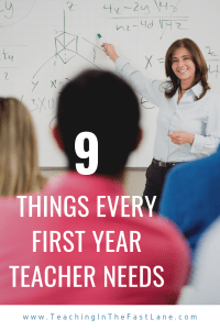 Are you looking for tips for your first year of teaching? Check out this blog post with 9 teacher supplies that will help make your first year in the classroom a little bit easier.