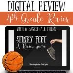 4th Grade Basketball Themed Digital Stinky Feet