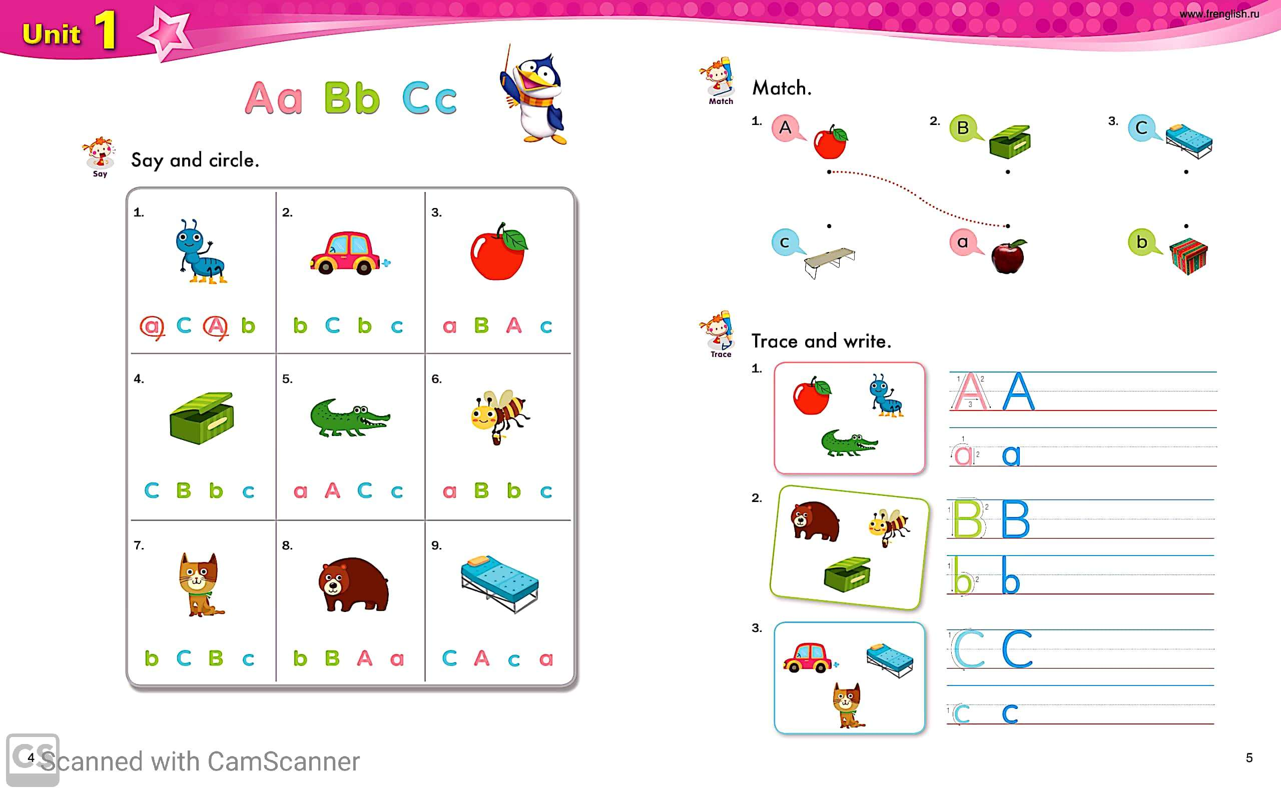 Phonic Practice Worksheets With Answers For Kindergarten