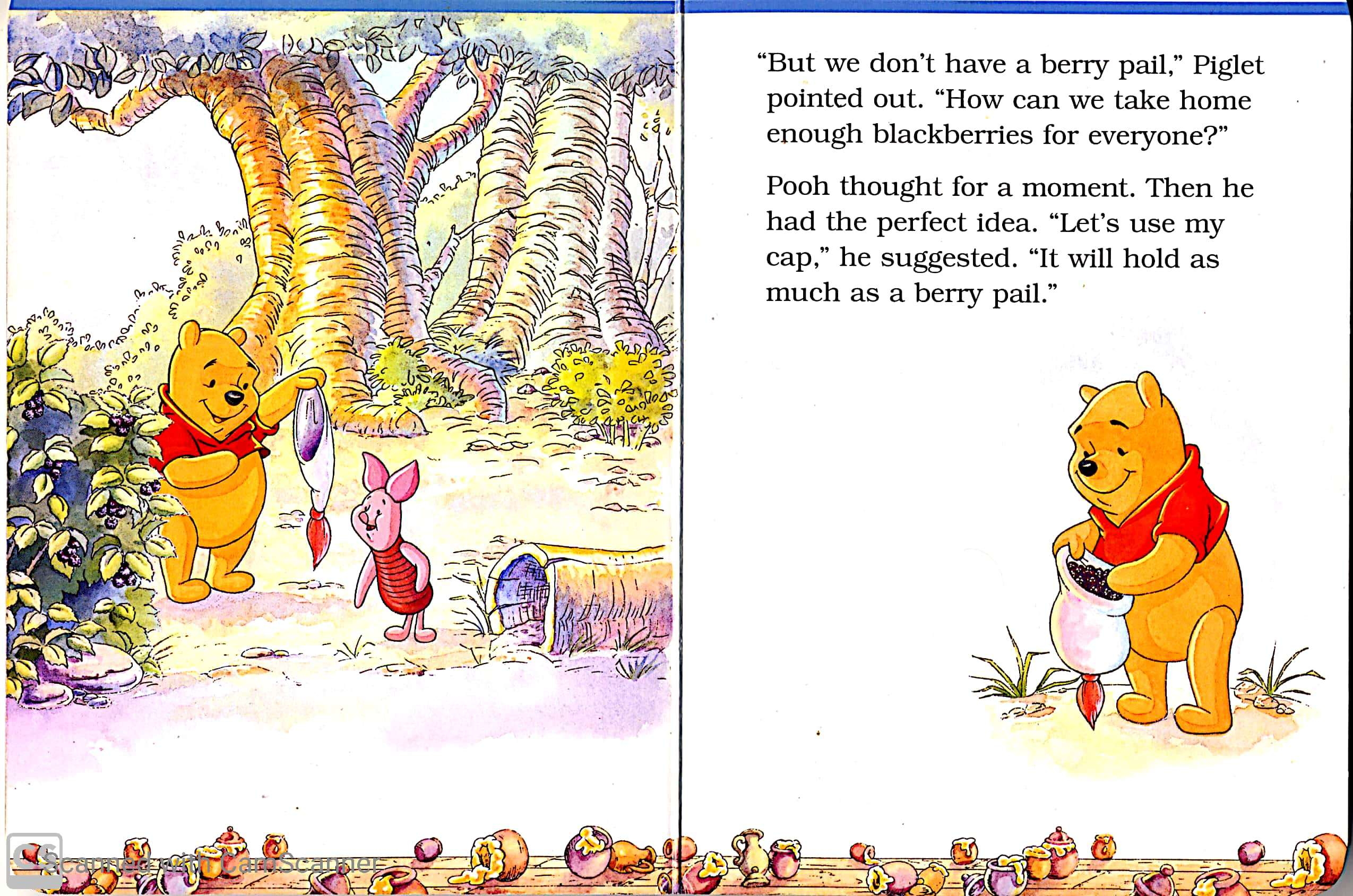 Winnie The Pooh And His Friends Blackberry Surprise