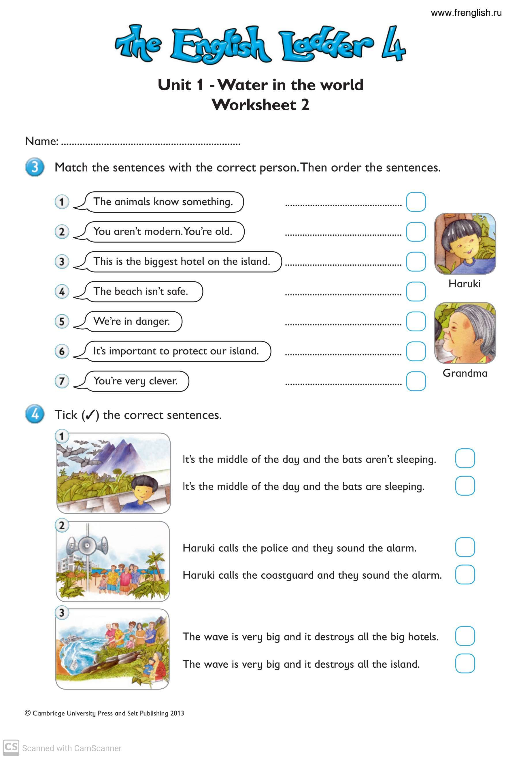 English Worksheets For Grade 4 Teaching Kids To Read And