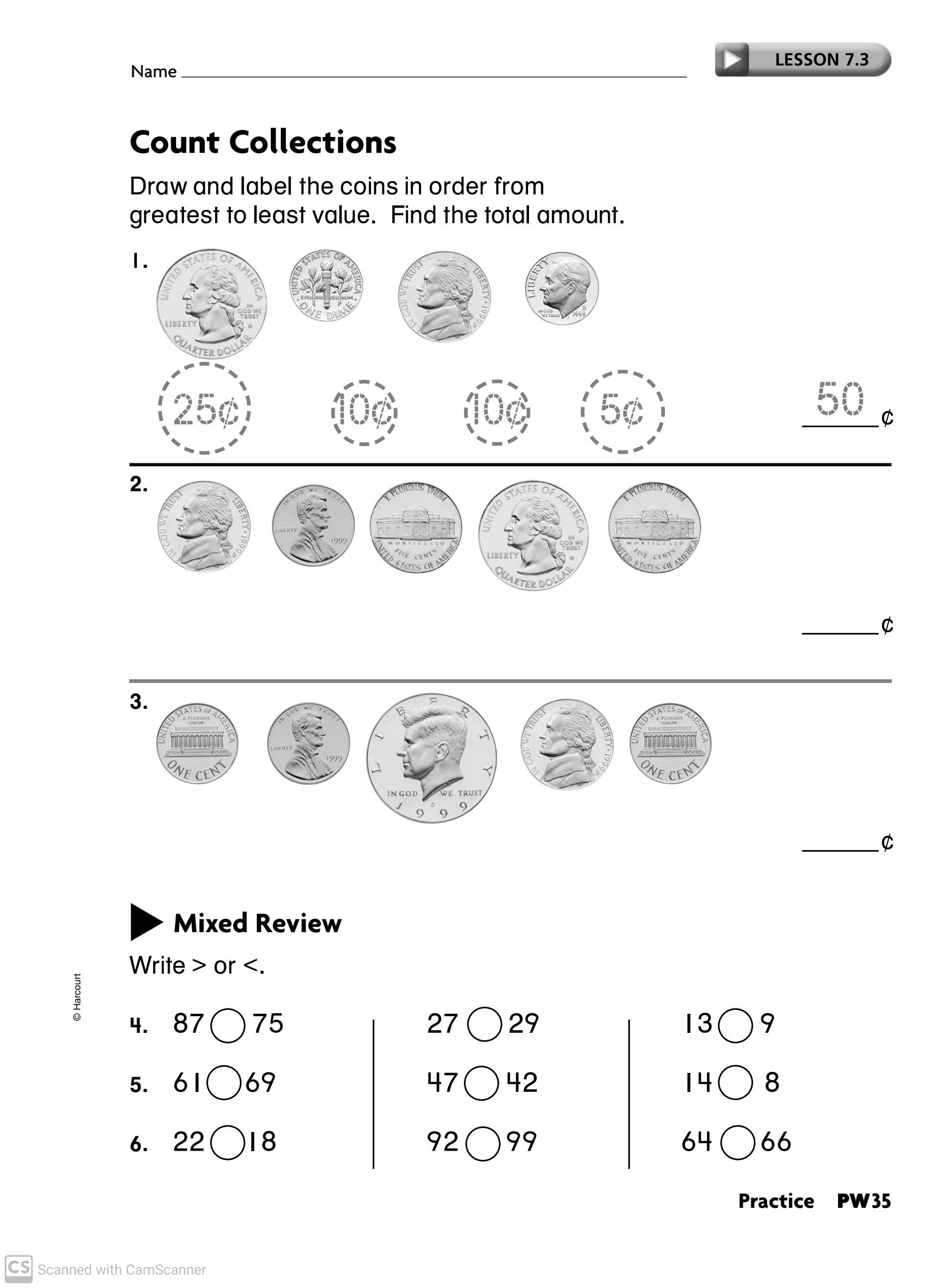 Maths Worksheets For Grade 2 Part 2 Teaching Kids To