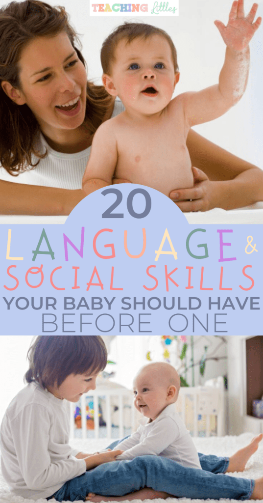 Social, emotional, and language skills emerge early in your baby. Make sure your infant is on target by looking for these milstones before they turn one.
