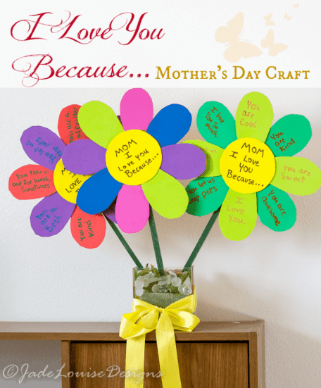 Mothers Day Craft & gift ideas for mom or grandma from babies, toddlers, or young kids to suprise with something unique & creative for all ages.