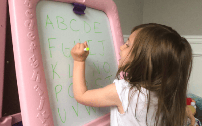 Teaching Letters on a Dry Erase Board