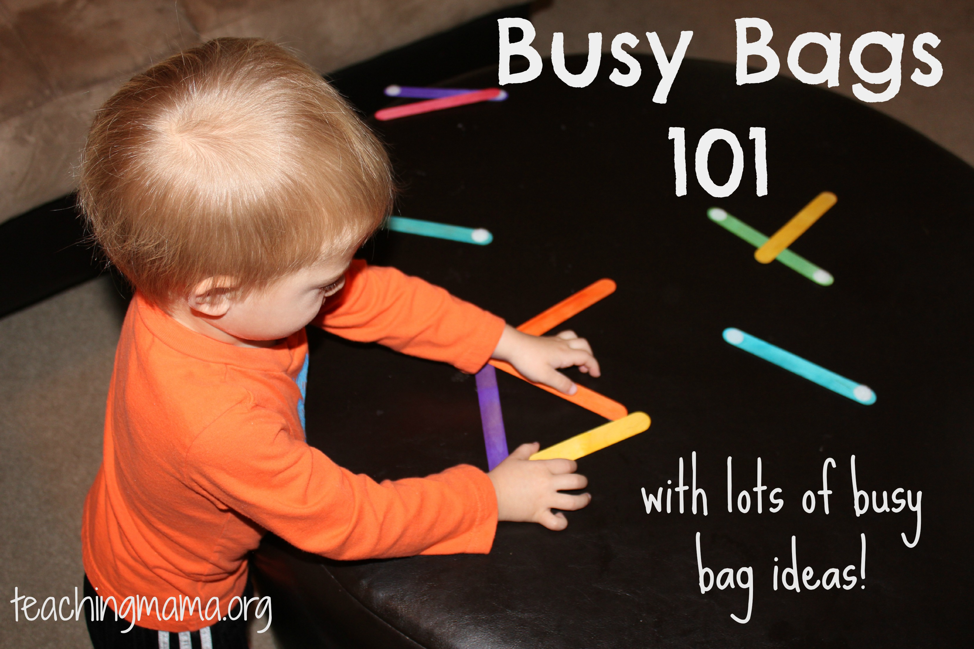 Busy Bags 101- And Lots Of Busy Bag Ideas