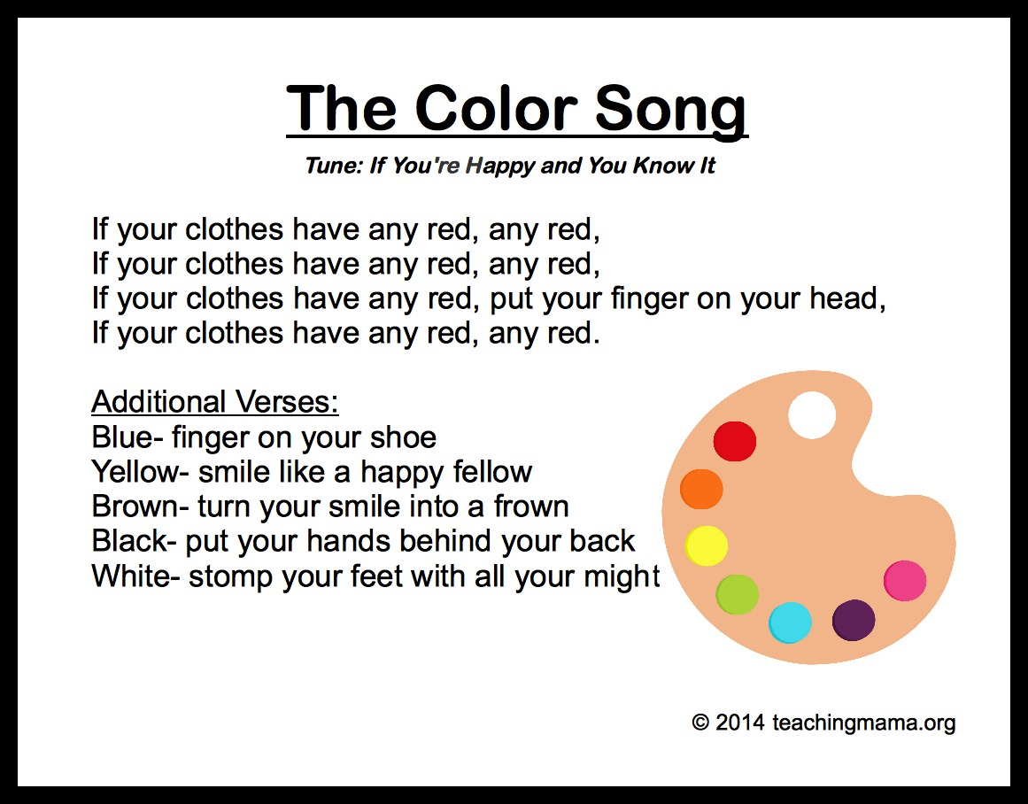 The Color Song