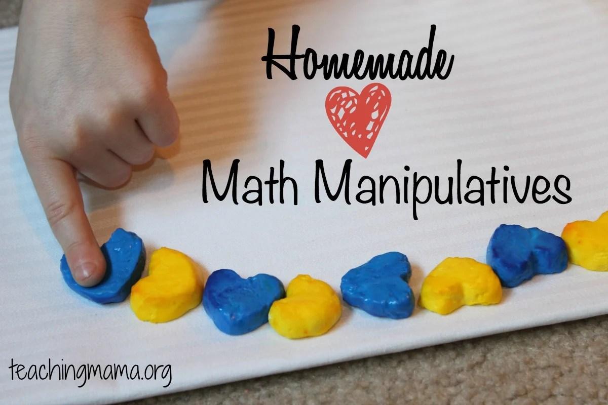 Homemade Math Manipulatives