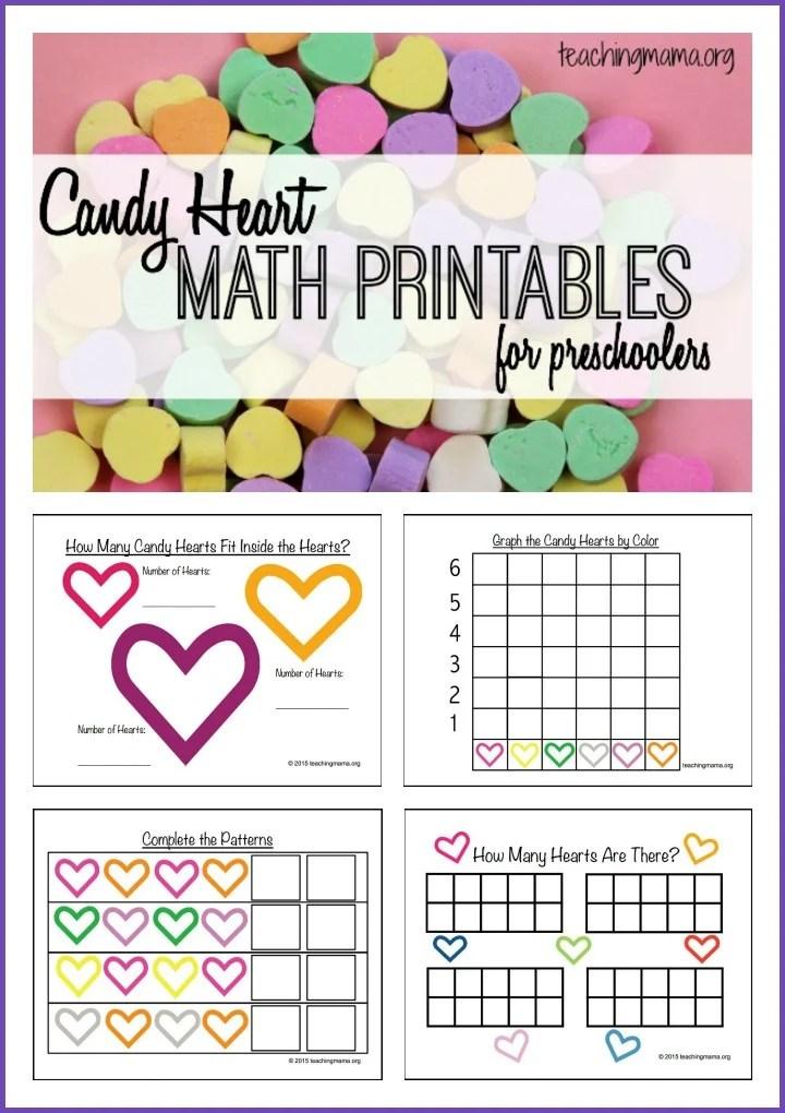 FREE Valentine\'s Math Printables | Free Homeschool Deals ©