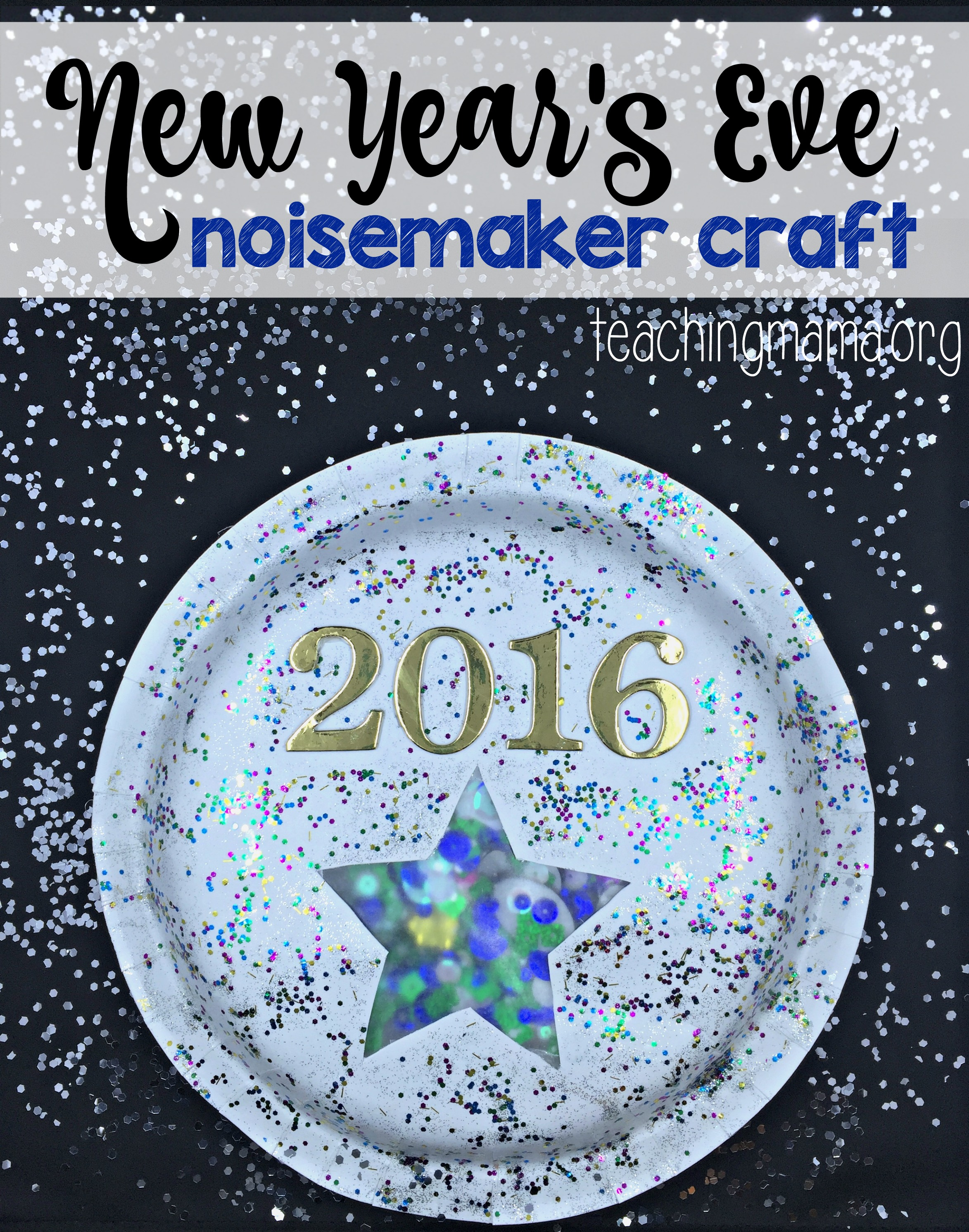 New Year S Eve Noisemaker Craft