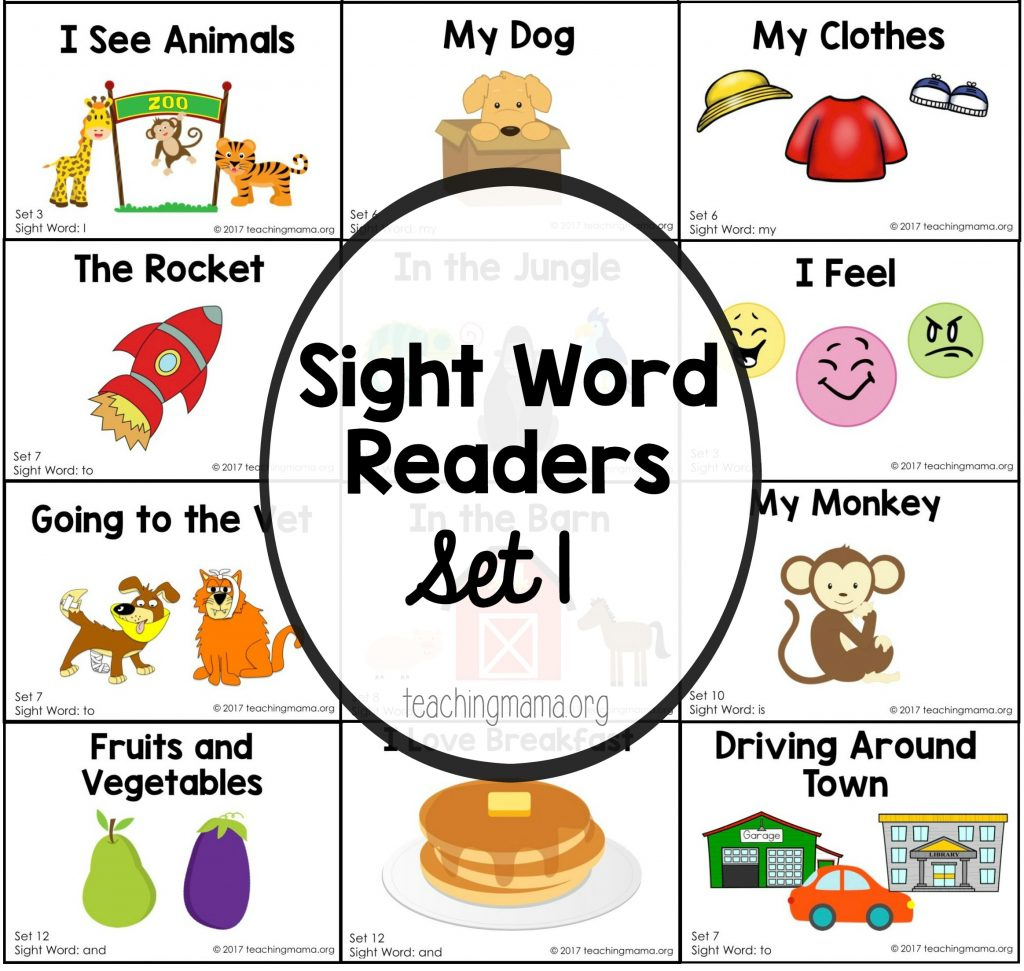 Sight Word Readers For The Word Am