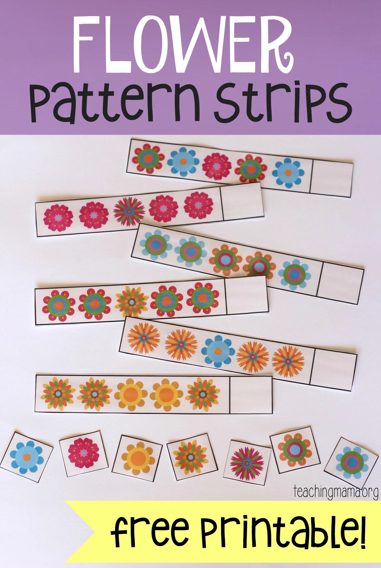 Flower Pattern Strips