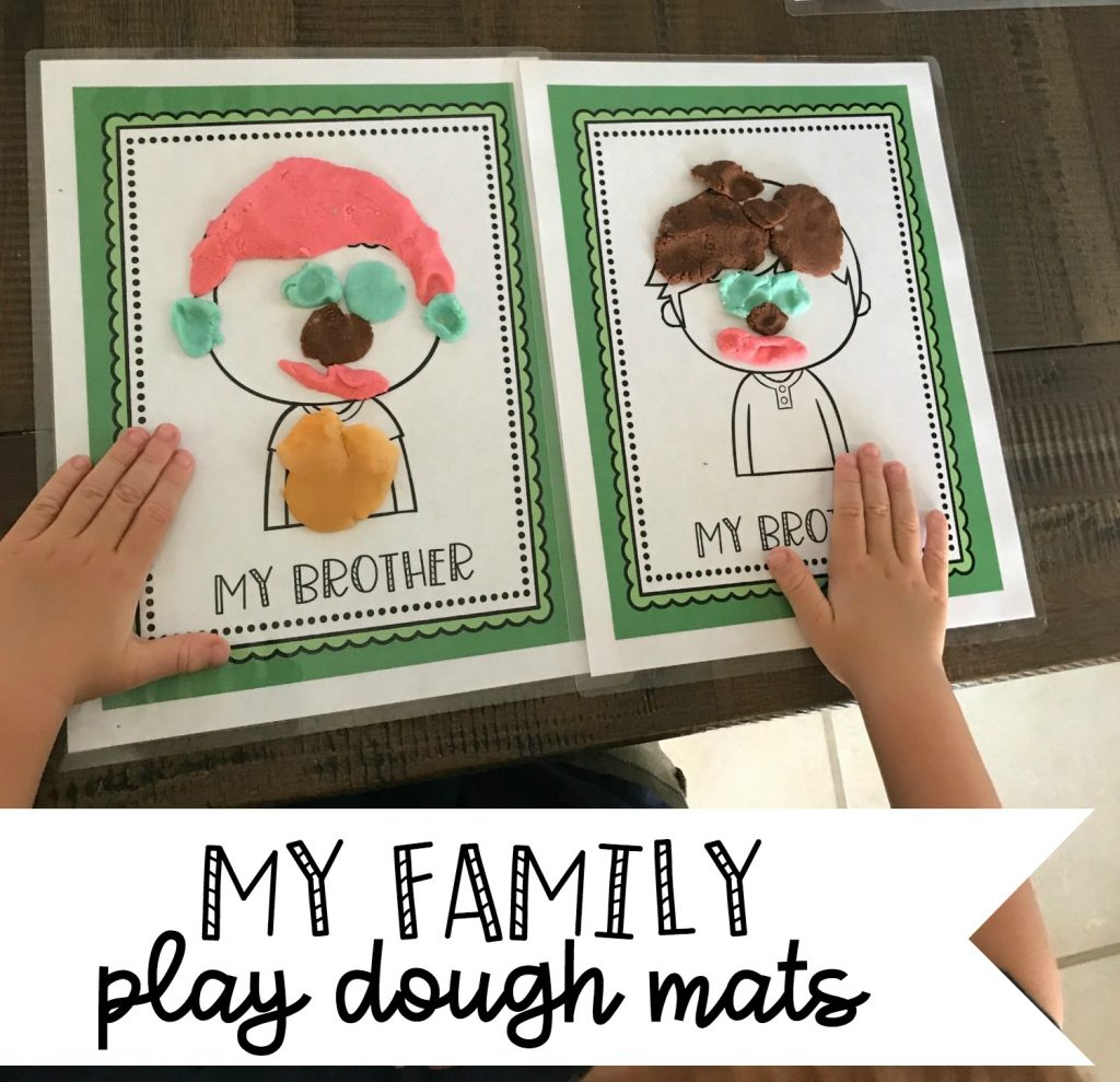 Preschool Family Theme Activities
