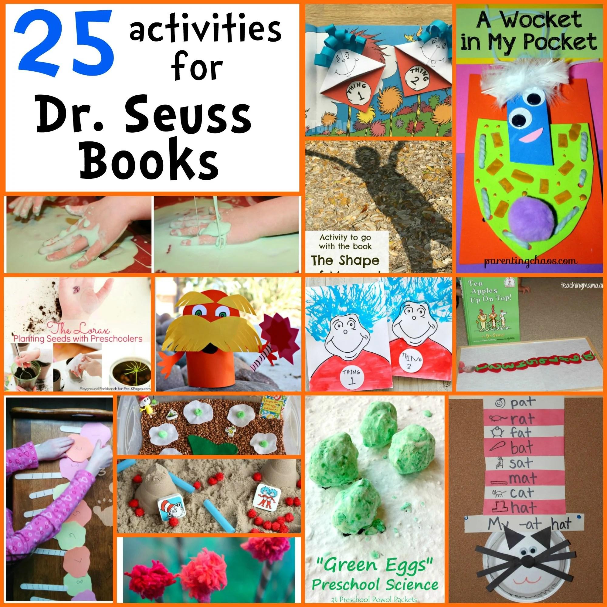 25 Dr Seuss Activities