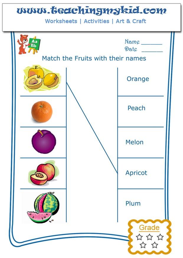 General Knowledge Worksheets For Kindergarten