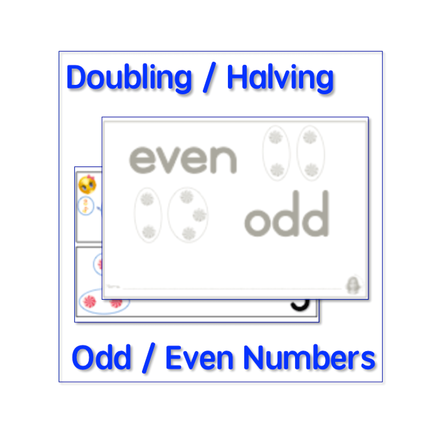 Halving Doubling Odd Even Numbers Teacha