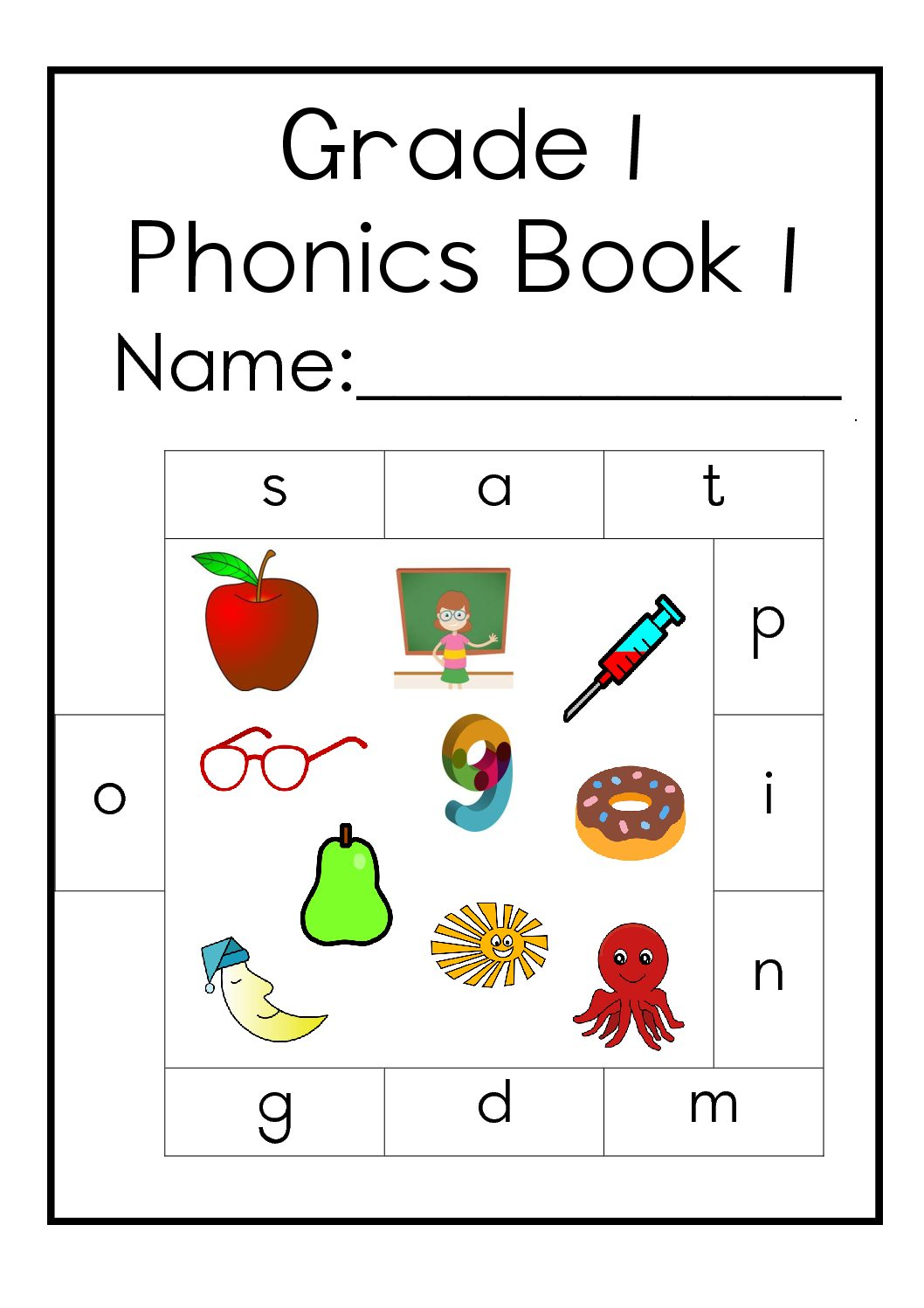 Grade 1 English Home Language Phonics Book 1