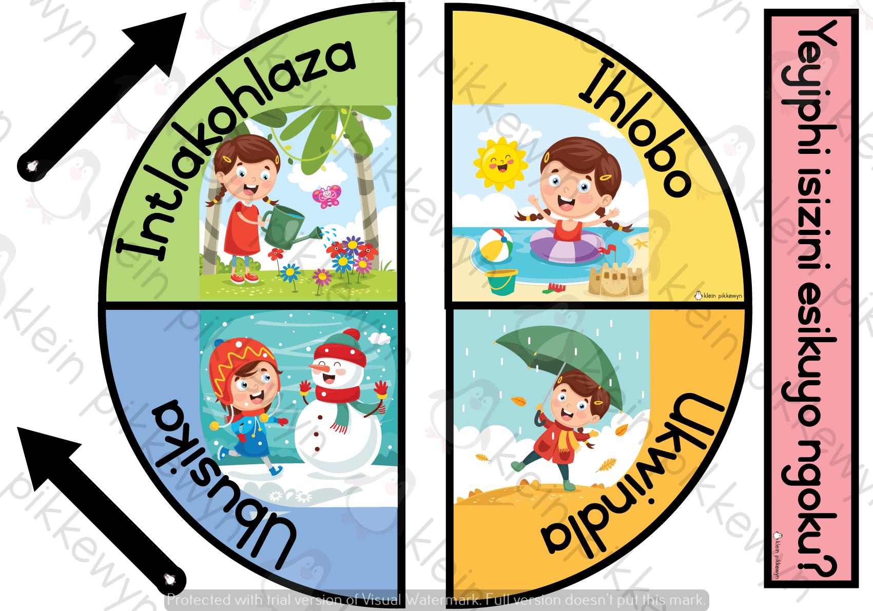 Isixhosa Seasonal Clock Teacha