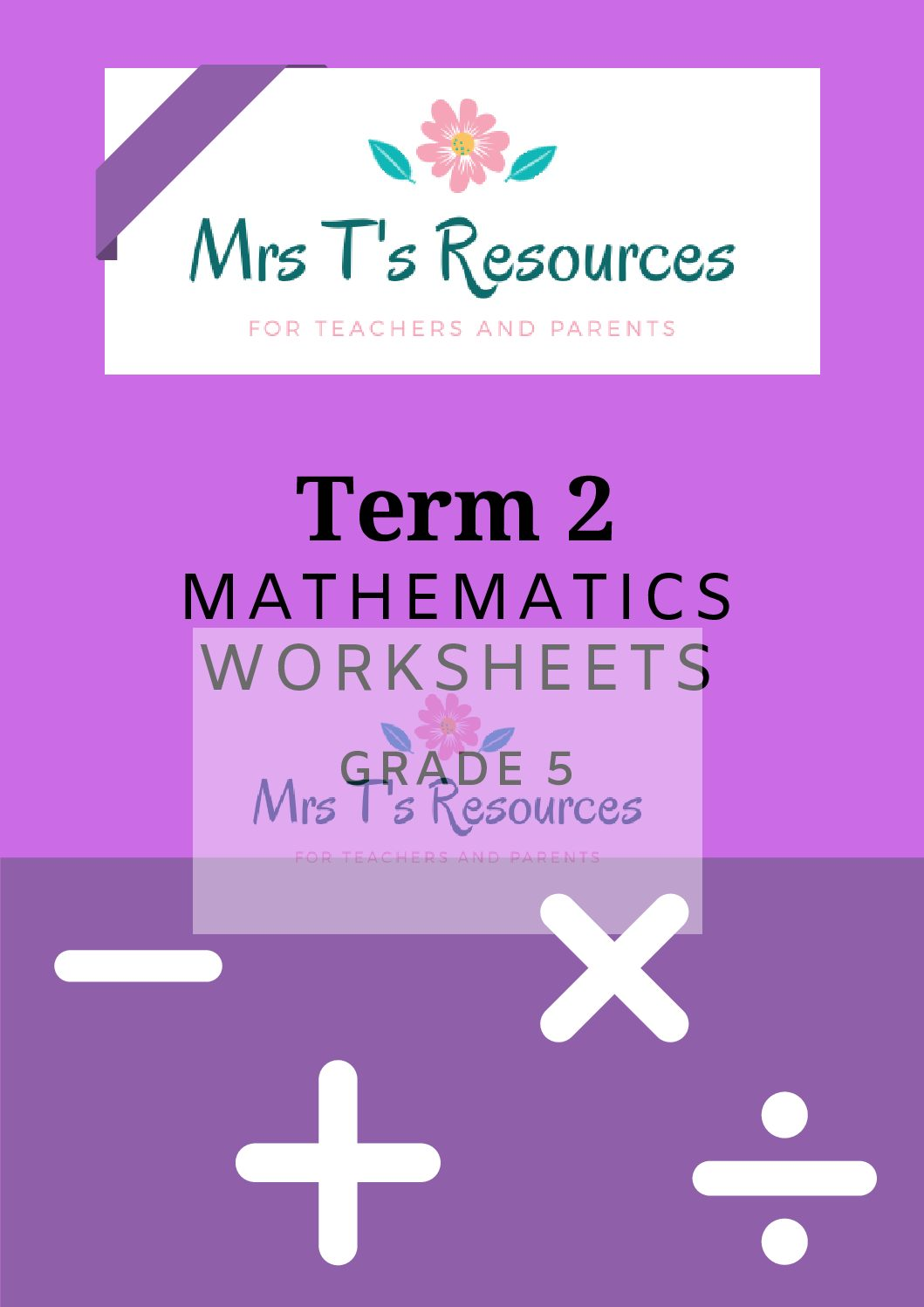 Grade 5 Mathematics Worksheets Term 2