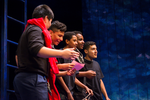 Students participate in the Folger Library Secondary School Shakespeare Festival in Washington, DC. (Image: Tracy Russo)