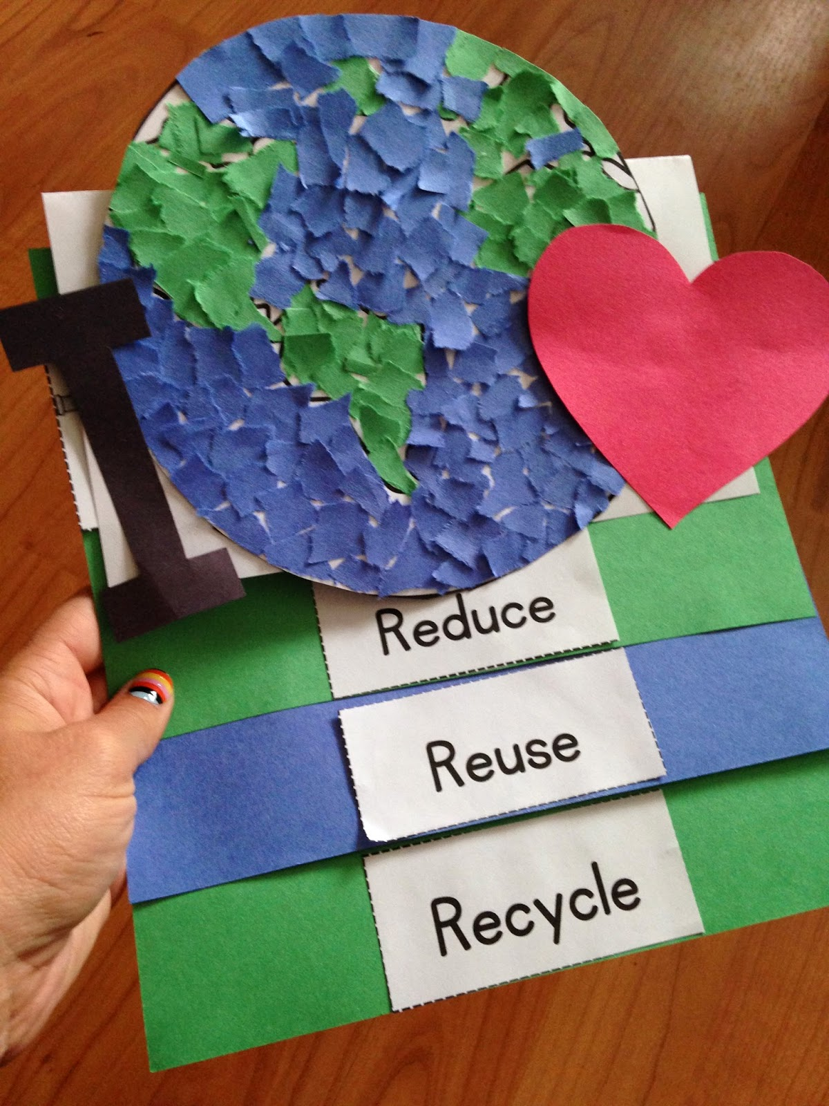 Earth Day Activities Craftivity Foldable Audio Book