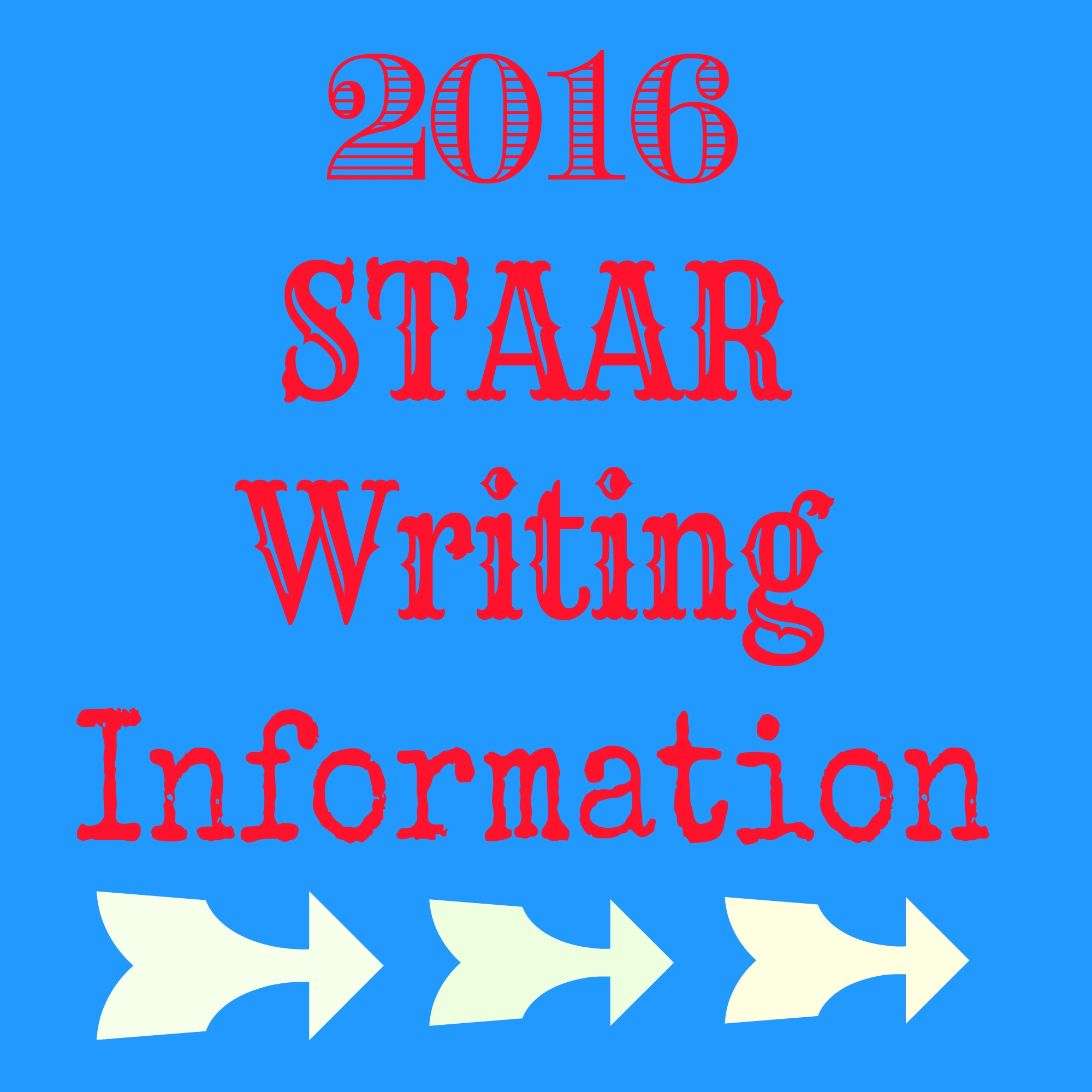 Staar Writing Test