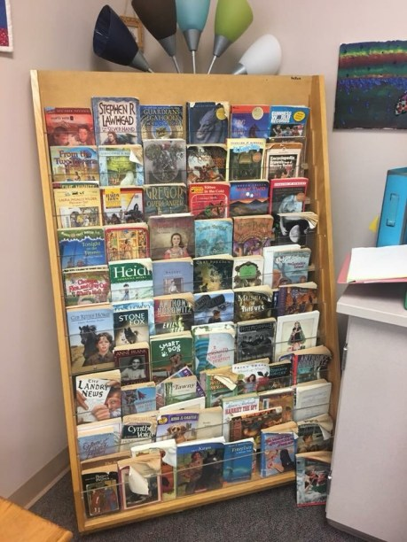 Carol's Middle School Book Display
