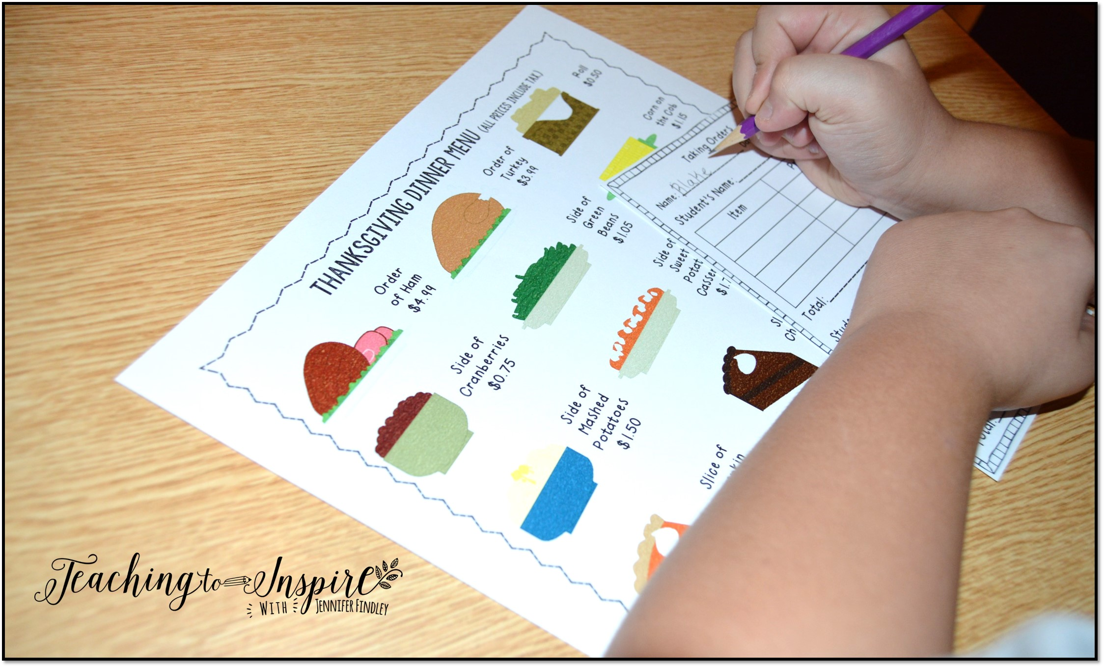 Thanksgiving Activities For Upper Elementary