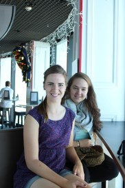 cafe with a view: skytower in Auckland
