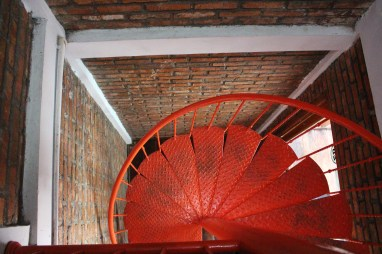 Stairs in the villa