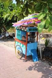 A very colourful warung
