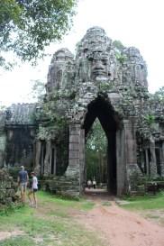 The Ta Prohm gate
