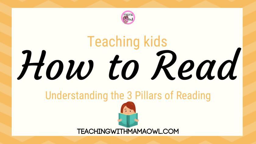 Teaching Kids How to Read