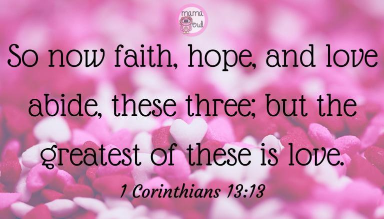1 Cor 13.13
