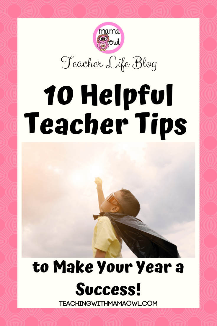 T.16 New Teacher Tips Pin1